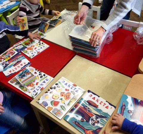 First book and ČOSIV – books for children from asylum homes