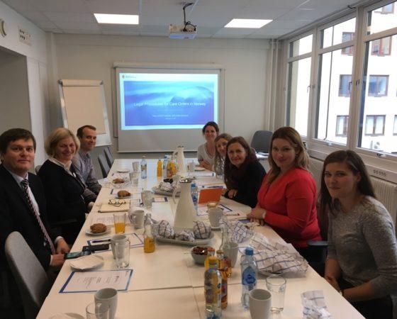 Studijní stáž ČOSIV v Norsku – tematická zpráva č. 1