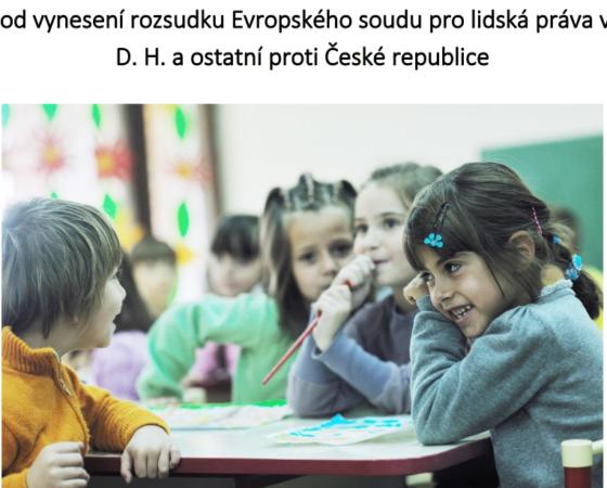 Strategická litigace a boj proti diskriminaci & Evropa: Na jakých dětech záleží