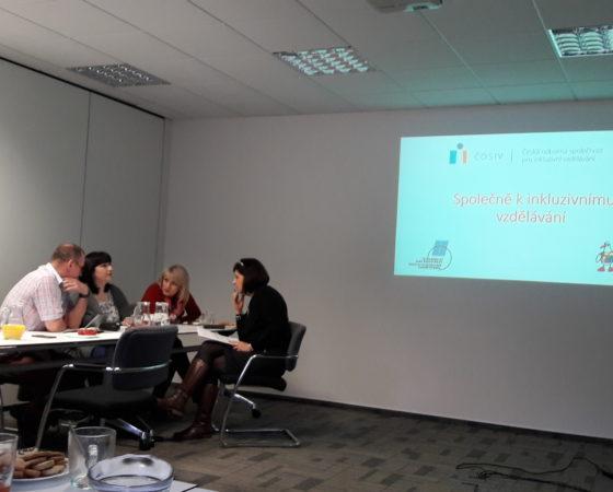 Společně k inkluzivnímu vzdělávání – první setkání
