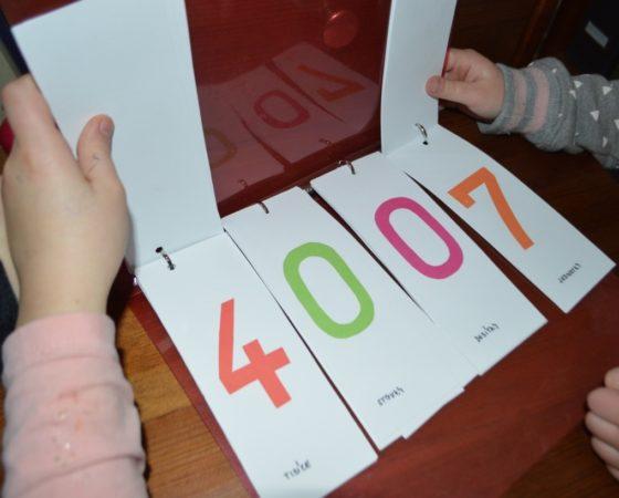 Pomůcky pro porozumění řádům čísel