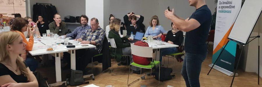 Unikátní výcvik zaměřený na podporu dětí s problémy v chování ve škole