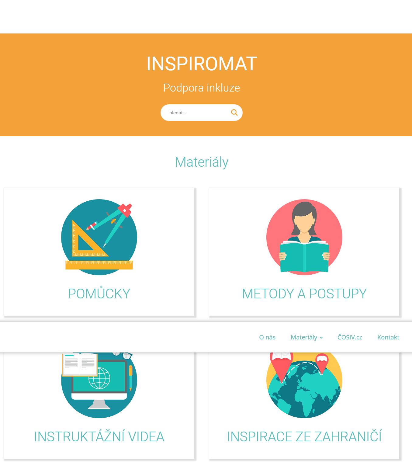 Inspiromat – podpora inkluze v praxi