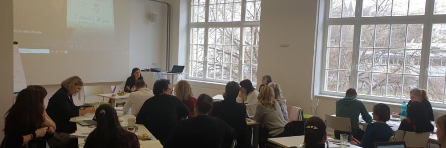 Intervizní setkání v rámci lektorského výcviku ČOSIV