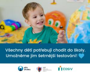 Otevřený dopis MŠMT a krajům: Všechny děti potřebují chodit do školy