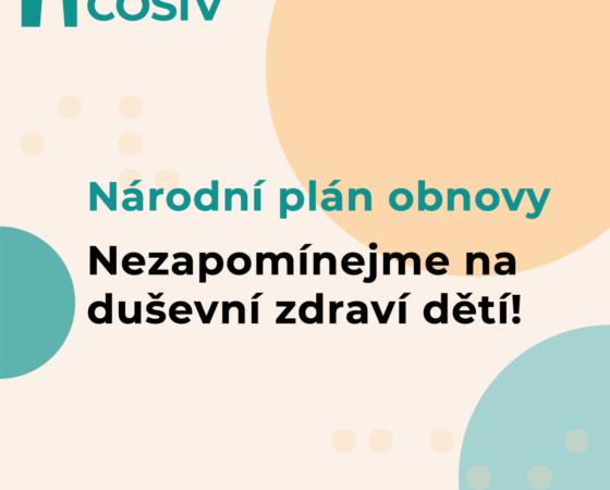 ČOSIV: V Národním plánu obnovy je třeba významně posílit zmírňování dopadů pandemie na duševní zdraví dětí a mladých lidí
