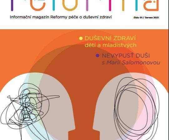 Klára Laurenčíková o duševním zdraví dětí v magazínu REFORMA